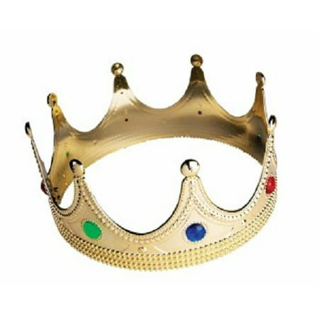 Boys Royal King Medieval Crown Costume Accessories for Halloween or Dress Up