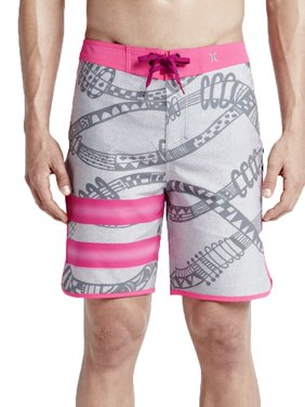 cceb9951e92 Product Image Hurley Mens Phantom Julian Snapper Fashion Board Shorts Grey/ Pink