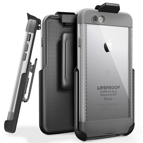 """Belt Clip Holster for LifeProof NUUD Case iPhone6 6S 4.7"""" (By Encased) (case is not included)"""
