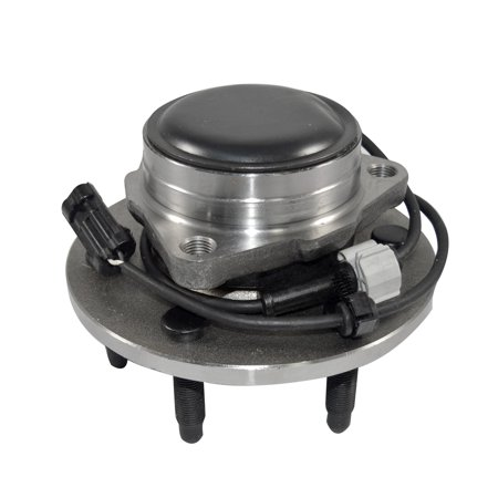One New Front Wheel Hub Bearing Assembly for Cadillac Chevy GMC 2WD W/ABS ()