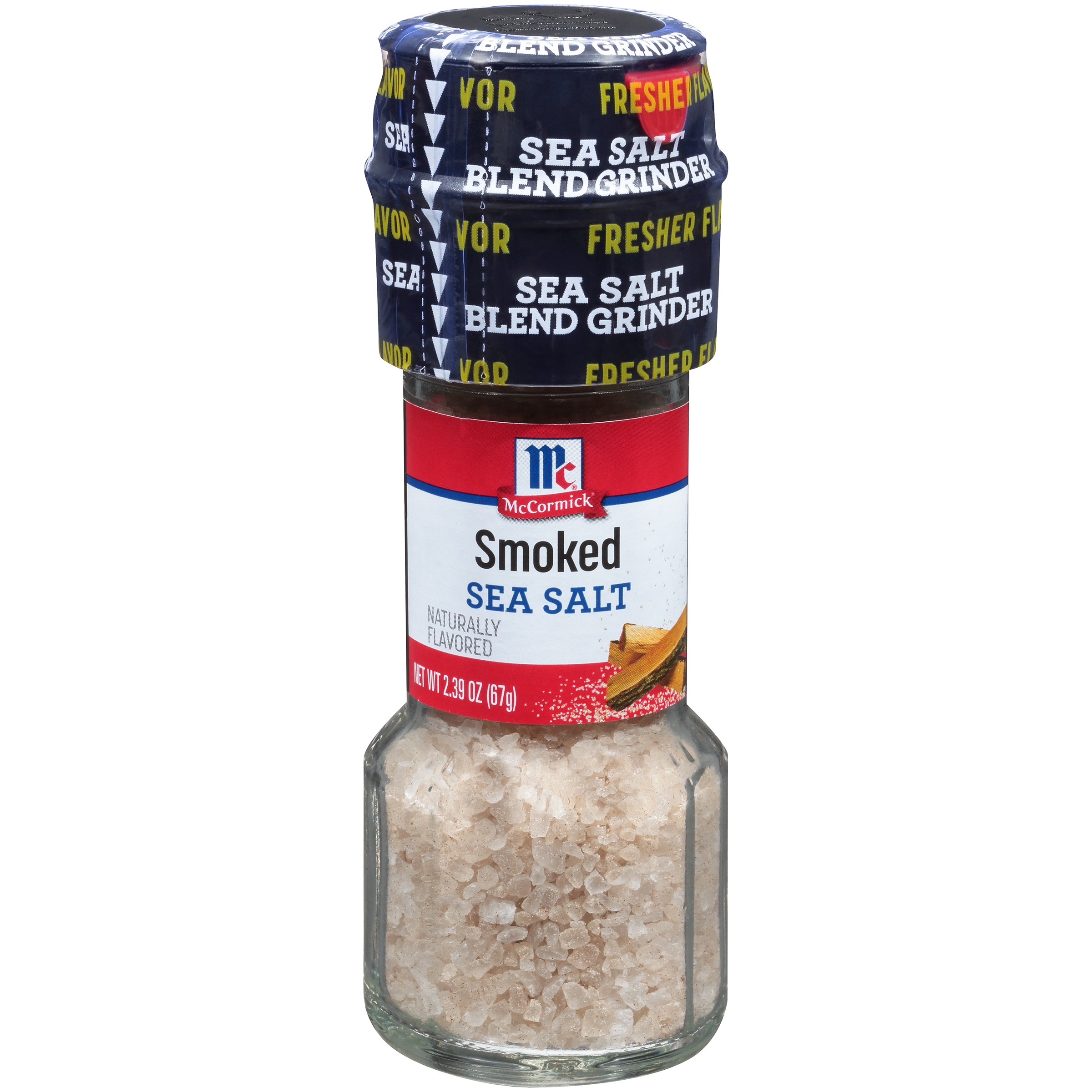 McCormick Smoked Sea Salt Grinder, 2.39 oz. Bottle by McCormick & Co., Inc