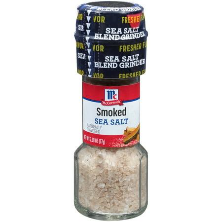 McCormick® Smoked Sea Salt Grinder, 2.39 oz. Bottle ...