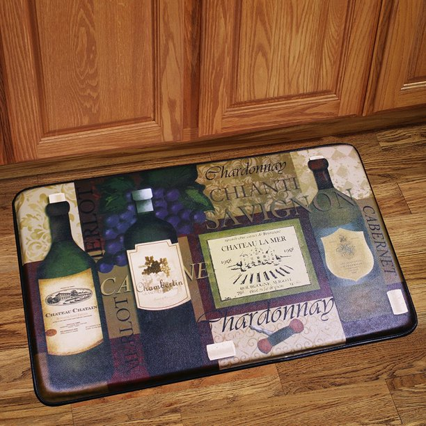 Memory Foam Anti Fatigue Chef Design Kitchen Floor Mat Rug ...
