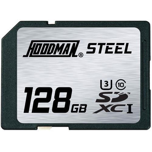 Hoodman 128GB Steel SDXC UHS-1 SDHC Memory Card