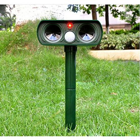 Mr. Garden Ultrasonic Animal Repellent with PIR Sensor