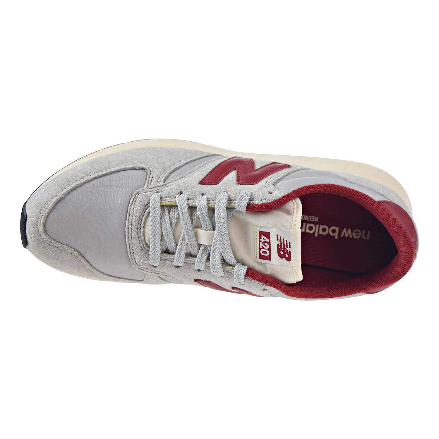 New Balance 420 Lifestyle Men's Shoes Grey/Red mrl420-st
