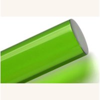 """Acrylic Lucite Rod Dowel - One 3/8"""" (9.525mm) x 24""""(610mm) (Lime)"""