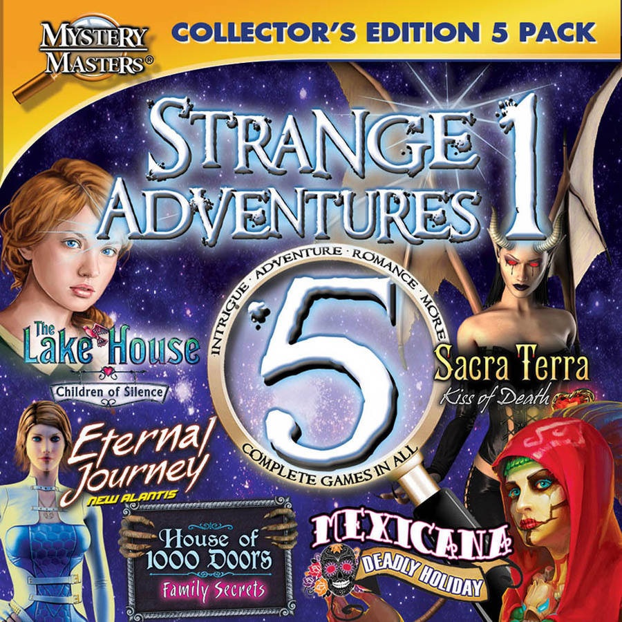 Encore Software 39170 Strange Adventures Collector's Edition Volume 1 Mystery Masters for Mac (Digital Code)