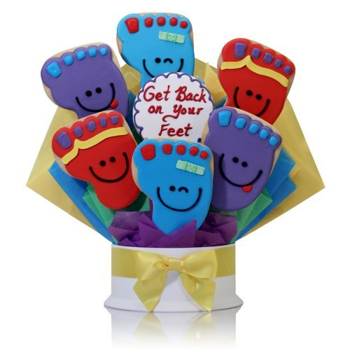 Corso's Cookies Get Back on Your Feet Cookie Bouquet