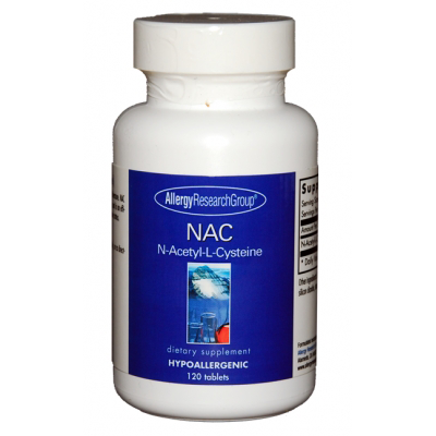 N Acetyl L Cysteine 500mg 120 Tablets Allergy