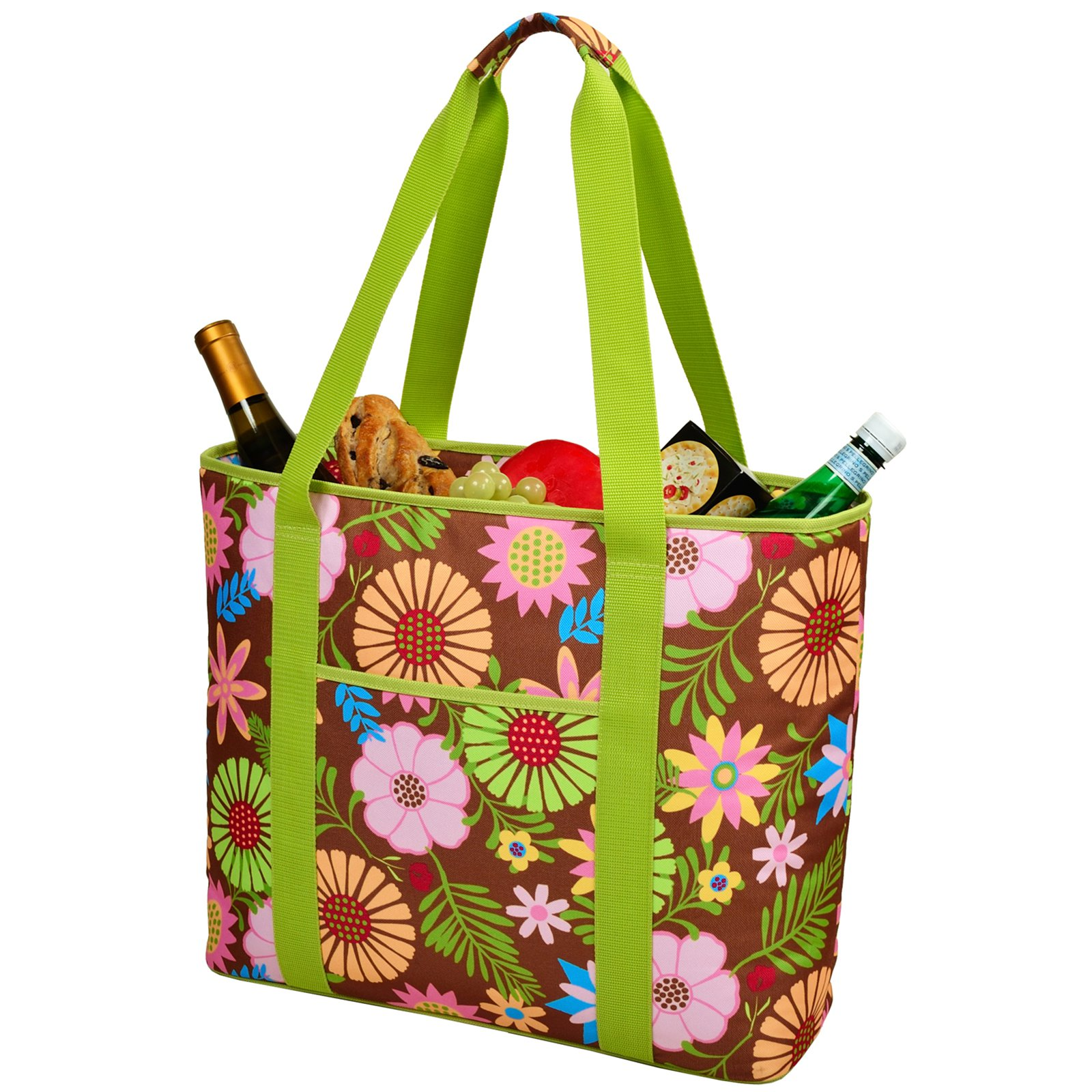 Picnic at Ascot Insulated Cooler Tote Bag - Floral