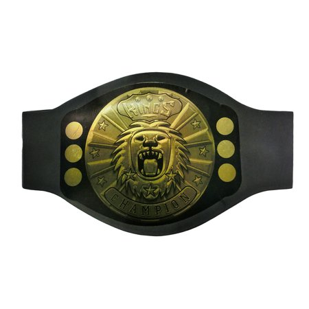 Wrestling Ring World Champion Gold Medal Belt Costume Accessory Joke (1920's Fashion Costumes And Accessories)