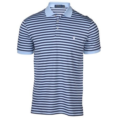 57877bf2a Polo Ralph Lauren Men s Striped Interlock Pony Shirt-Blue – BrickSeek