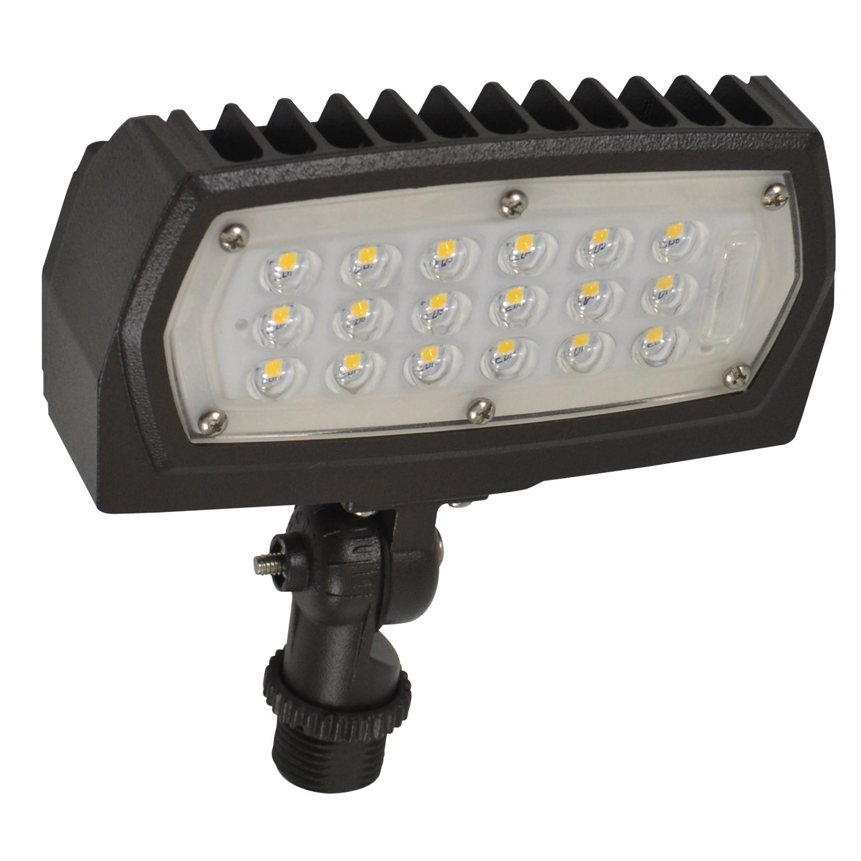 NUVO Lighting 15W LED Flood Light Bronze