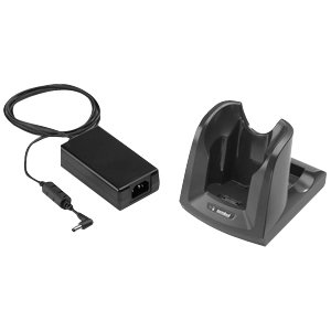 6000 Capability Kit - Zebra CRD3000-101RES Single Bay Cradle Kit - Wired - Mobile Computer - Charging Capability - 4 x USB