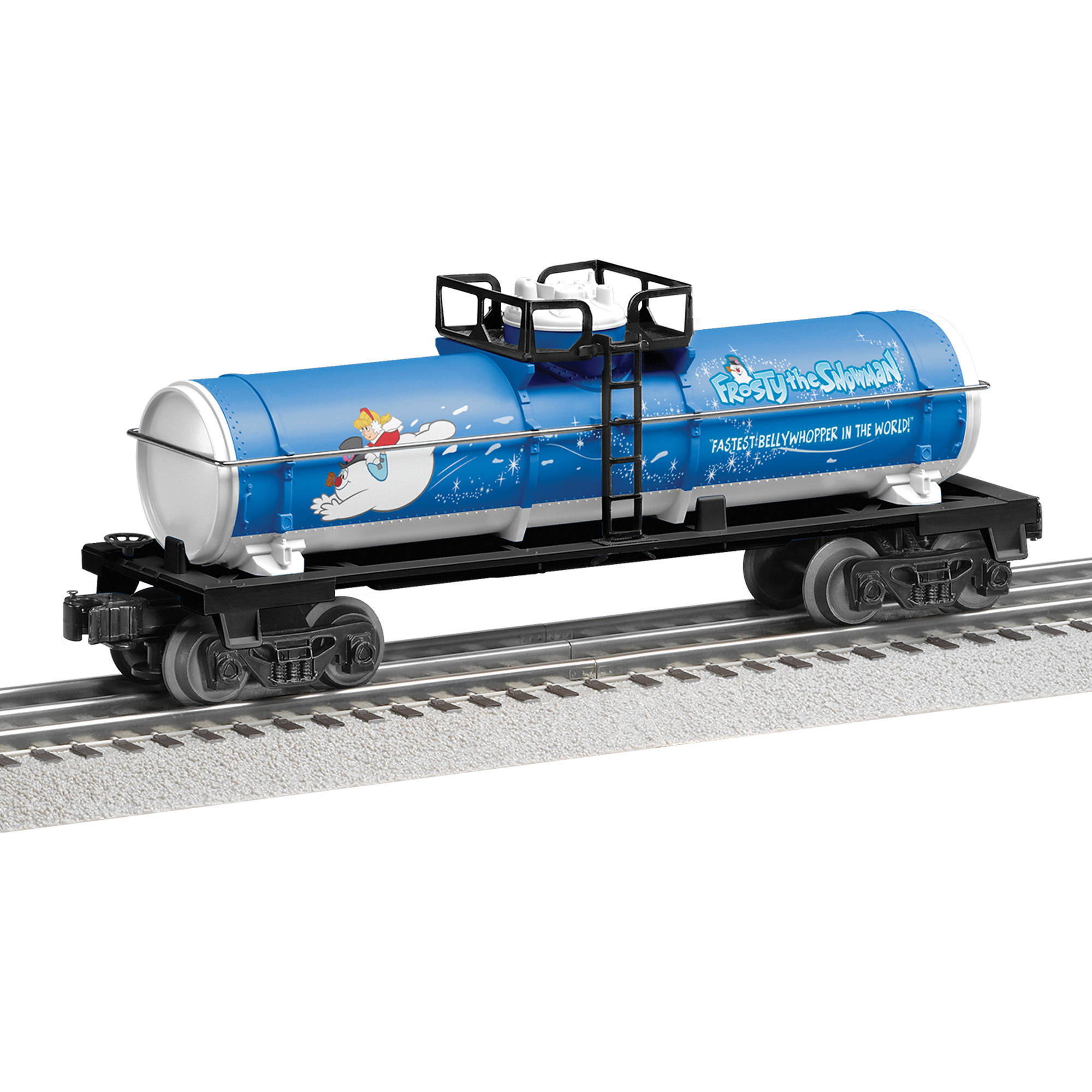 Lionel Frosty the Snowman Tank Car