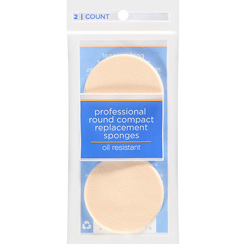 Dicon Technologies Professional Round Compact Replacement Sponges, 2 count