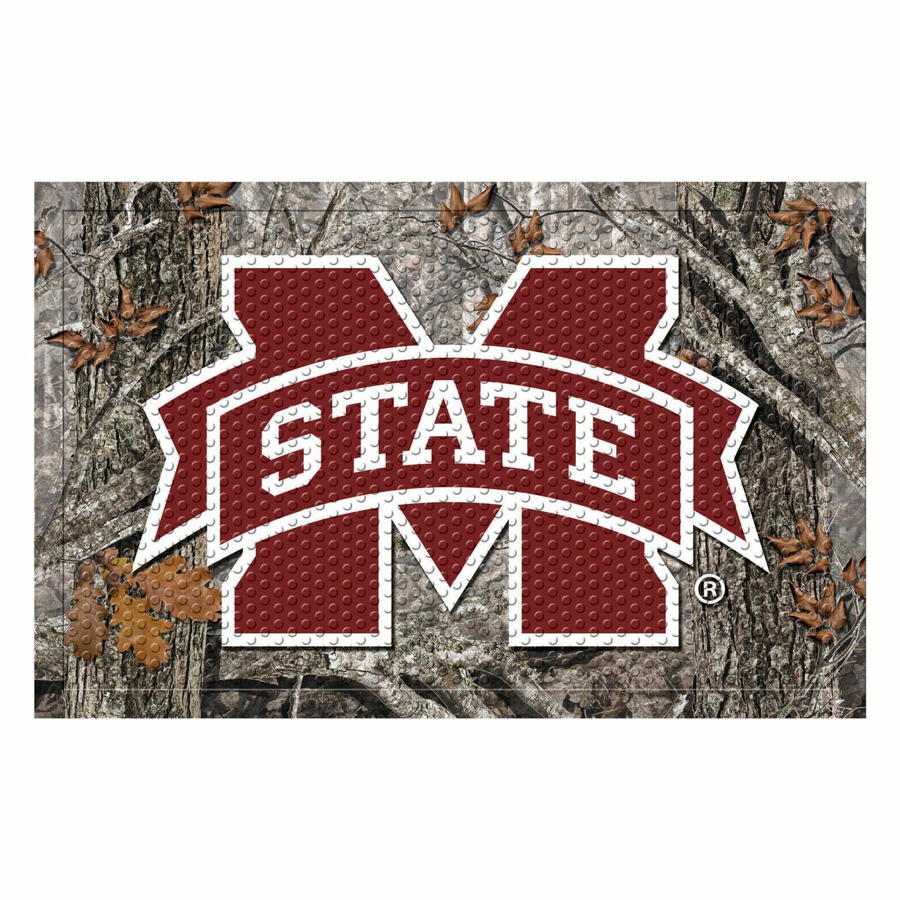 """Mississippi State Scraper Mat 19""""x30"""" - Camo"""