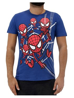 fb210eeea7b Product Image Tokidoki X Marvel Spider-Man Spidey Chaos Men s T-Shirt