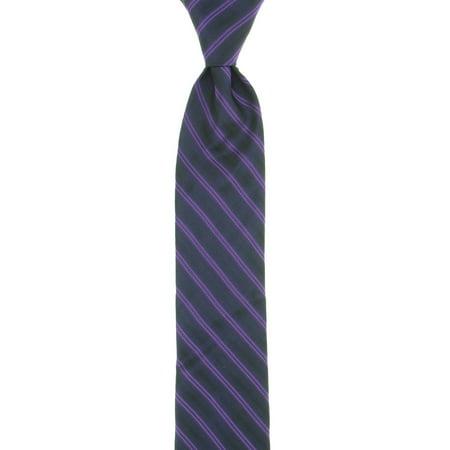 Calvin Klein Steel Men's Purple Striped Tie
