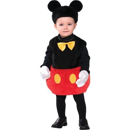 Mickey Mouse Costume For Baby (Mickey Mouse Costume for Babies, Size 12-24 Months, Includes a Bodysuit and)