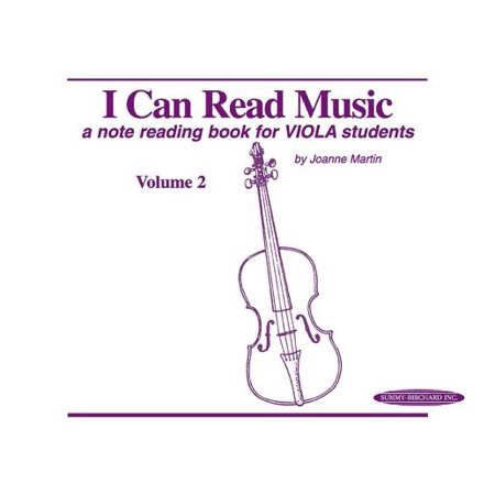 (I Can Read Music, Volume 2 : A Note Reading Book for Viola Students)