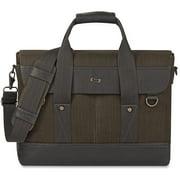 USLEXE1364, US Luggage Bradford Hybrid Briefcase, 1, Black,Gray