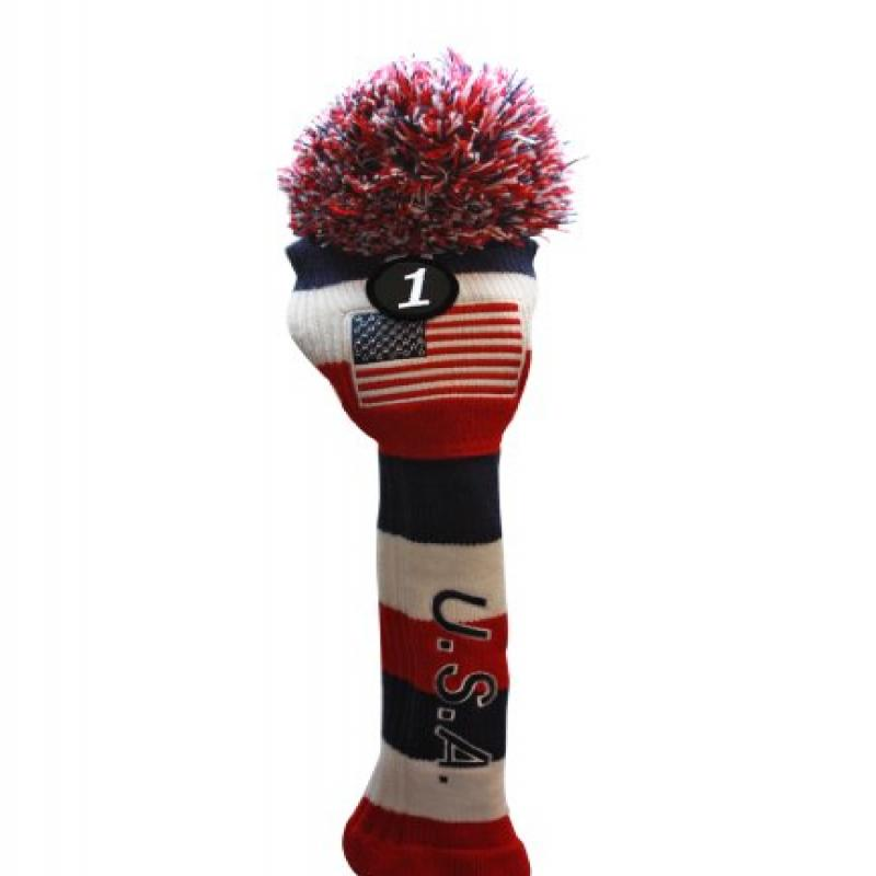 USA Majek Golf Driver Pom Pom Knit Limited Edition Vintag...