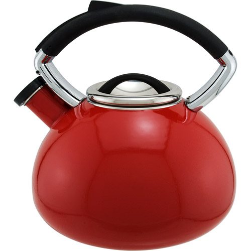 Copco Vitara 2.3-Quart Teakettle, Sedona Red