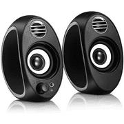 Computer Speakers, PC Powered Speakers USB Speaker Monitor Speakers for Desktop Computer/PC/TV/Laptop Gaming Speaker