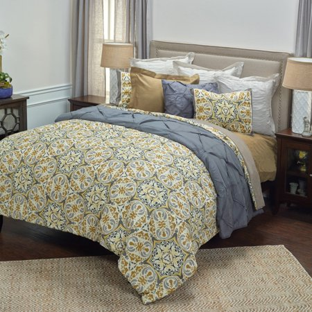 Rizzy Home Comforter Grey Color
