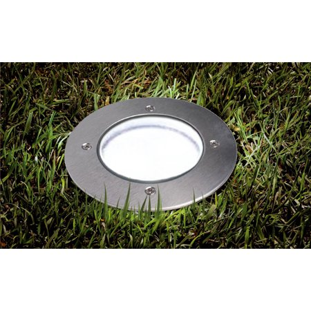 SolarEK Solar Powered LED Garden Path Lights - Stainless Steel, Acrylic, Outdoor, All (Acrylic Garden Lighting)
