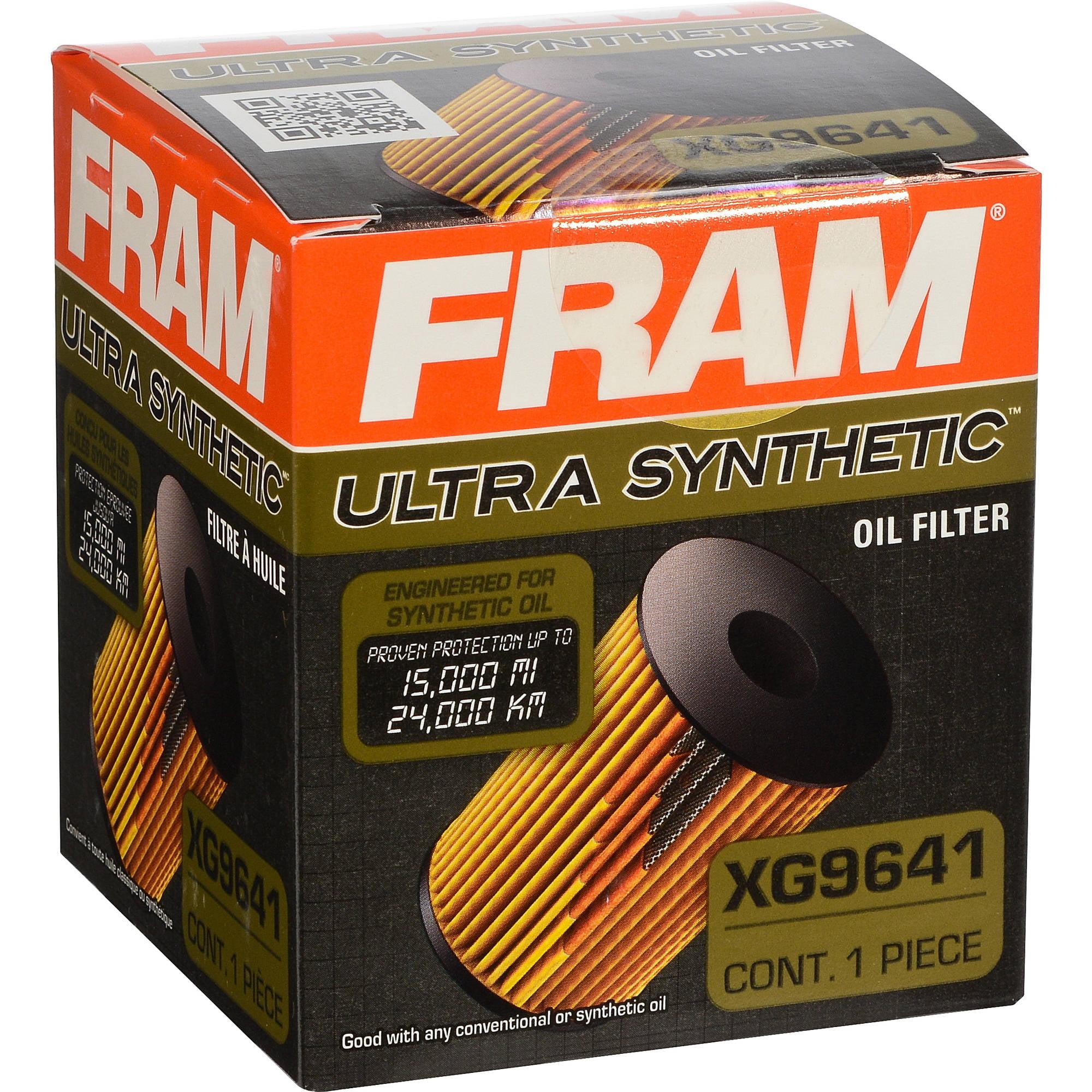 FRAM Ultra Synthetic Oil Filter, XG9641