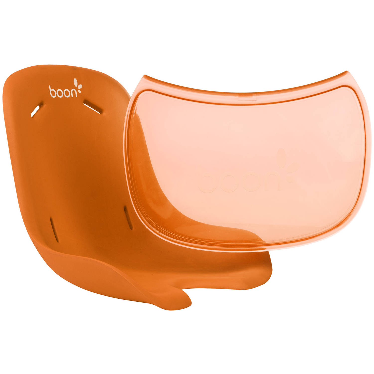 Boon Flair Seat Pad & Tray Liner Combo, Orange
