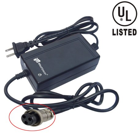 iMeshbean 24 Volt Scooter Battery Charger For RAZOR Bike Quad 1.5A