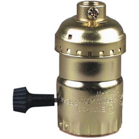 1008316CC10 Electrolier Metal Shell Lampholder, Medium Base