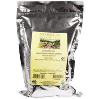 Starwest Botanicals Organic Wheat Grass Powder, 1 lb (453.6 g)