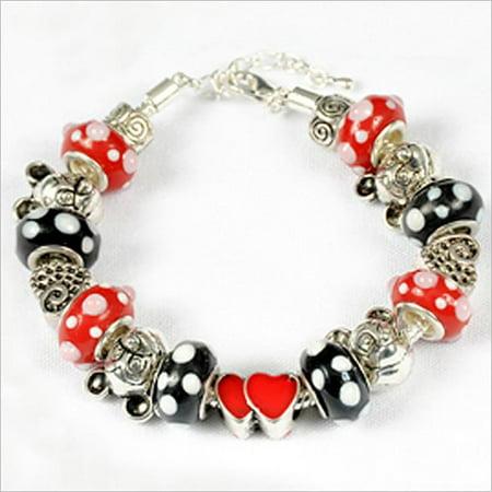 143192PMM293 Mickey Mouse Charm Bracelet - Mickey Mouse Bracelet