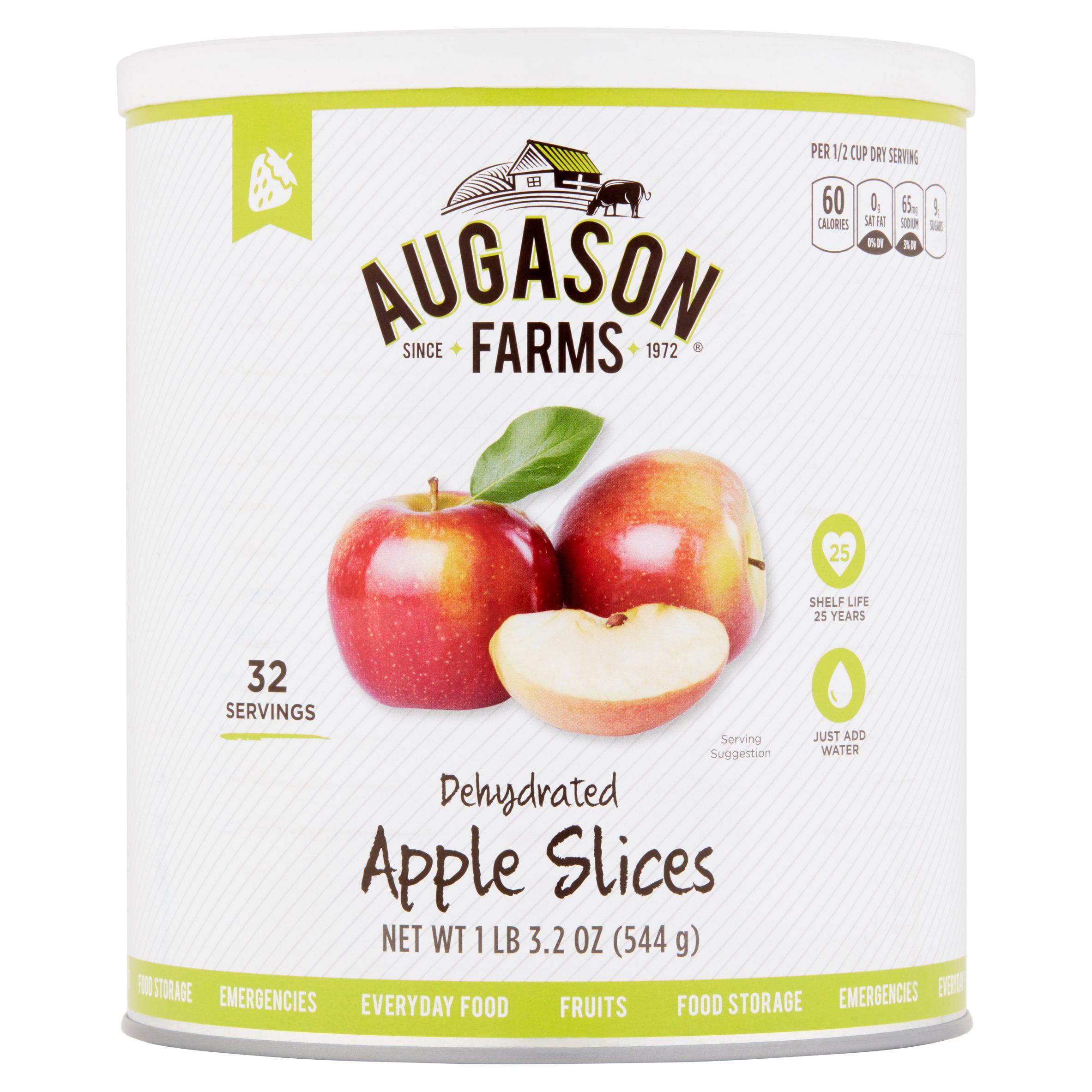 Augason Farms Dehydrated Apple Slices 19 oz #10 Can by Augason Farms