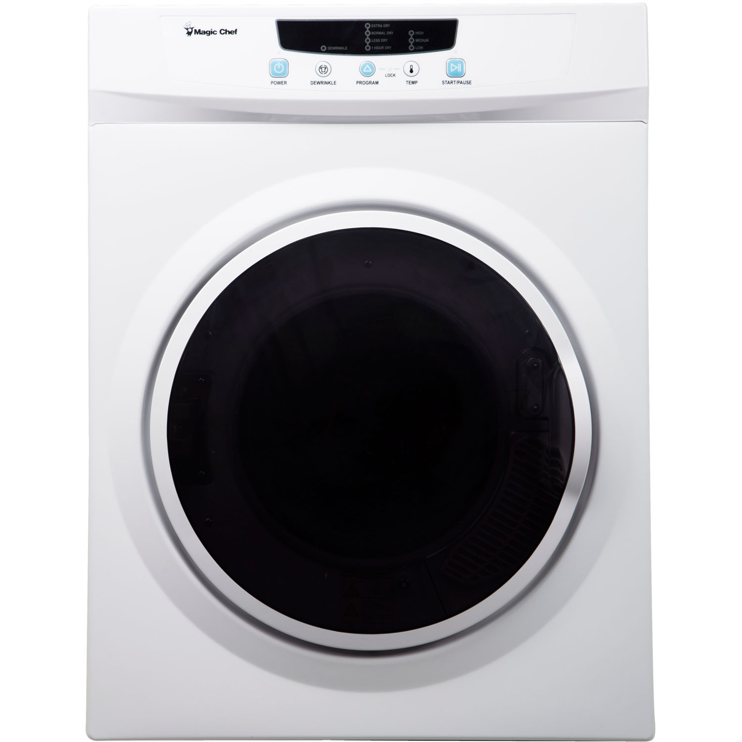 Magic Chef 3.5 Cu. Ft. Compact Electric Dryer in White