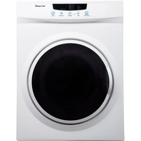Magic Chef 3.5 cu ft Compact Dryer, White