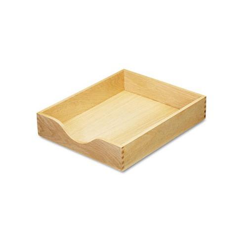 Carver Hardwood Letter Stackable Desk Tray CVR07211