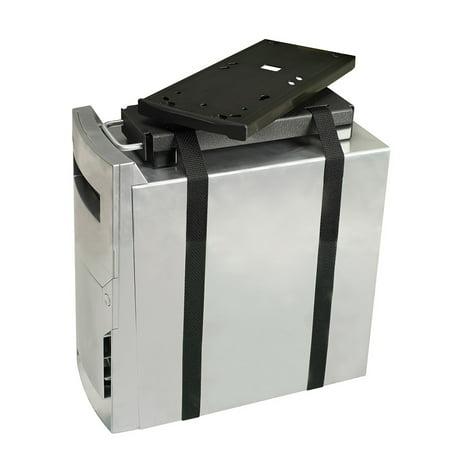 Lockable Cpu Holder - RightAngle 200CPU CPU Holder Arm, Computer Desk Accessory