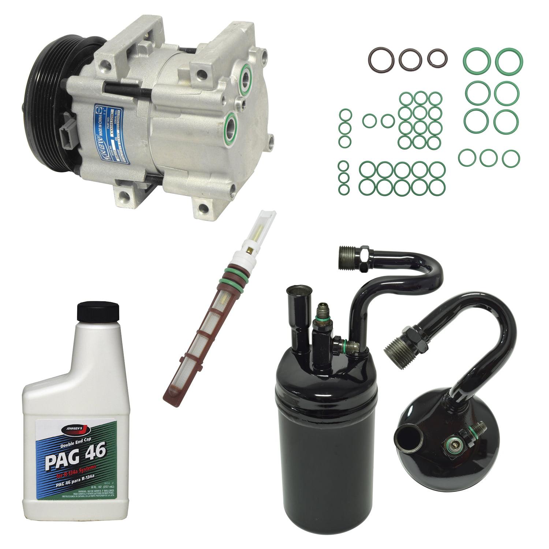 For Ford Ranger 1994 3.0L 4.0L NEW AC A//C Repair Kit W// OEM Compressor /& Clutch