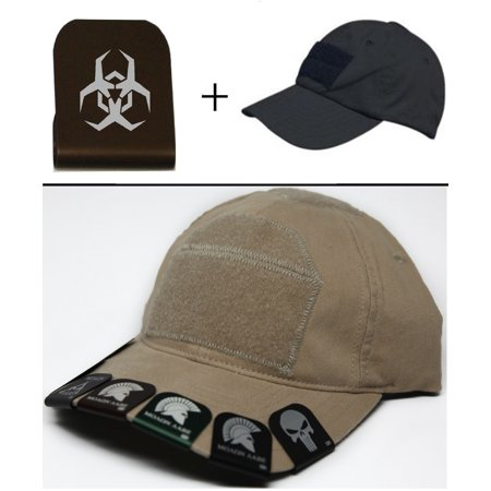 Malware Toxic Hazard Symbol Cap Crown Rim Brim It Brown   Black Hat