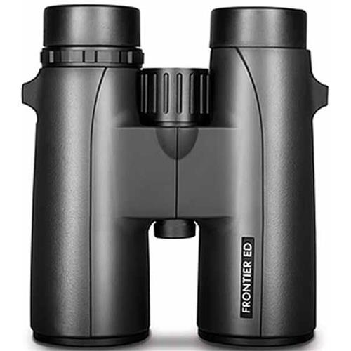 10x42 Frontier ED Top Hinge Water Proof Roof Prism Binocular with 6.5 Degree Angle of View, Black