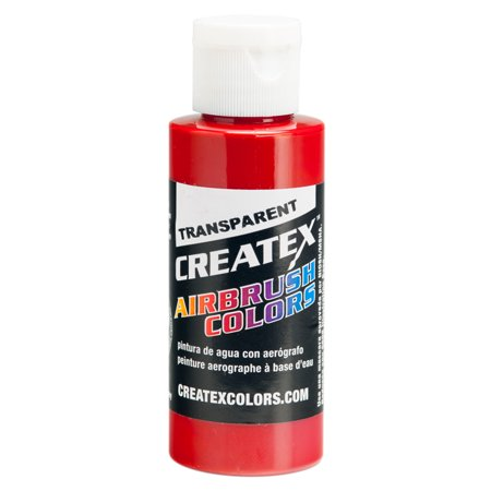 2oz Createx Crimson Transparent 5137 - 2Z Airbrush Paint Color