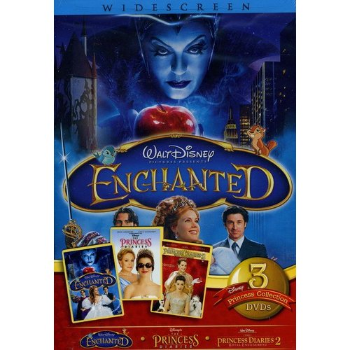 Live-Action Princess 2010 3-Pack: Enchanted / Princess Diaries 1 / Princess Diaries 2 (Full Frame)