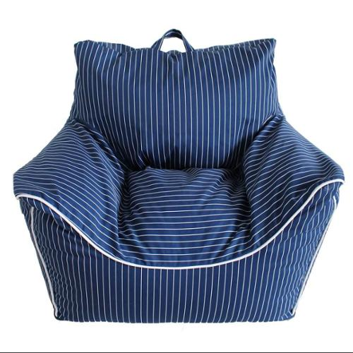 Pinstripes Easy Chair with Removable Cover