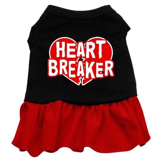 Heart Breaker Dresses Black with Red Sm (10)